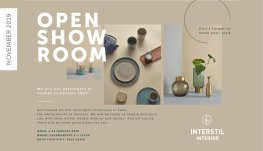 Open showroom hos Interstil Interior i hele januar